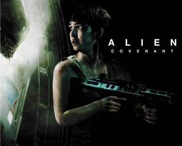Alien Covenant wall