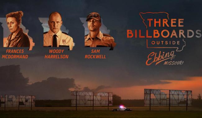 "01.03.2018 ""Three Billboards Outside Ebbing, Missouri"""