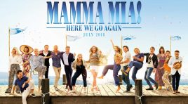 "19.07.2018 ""Mamma Mia; Here We Go Again"", në ora 20:00"