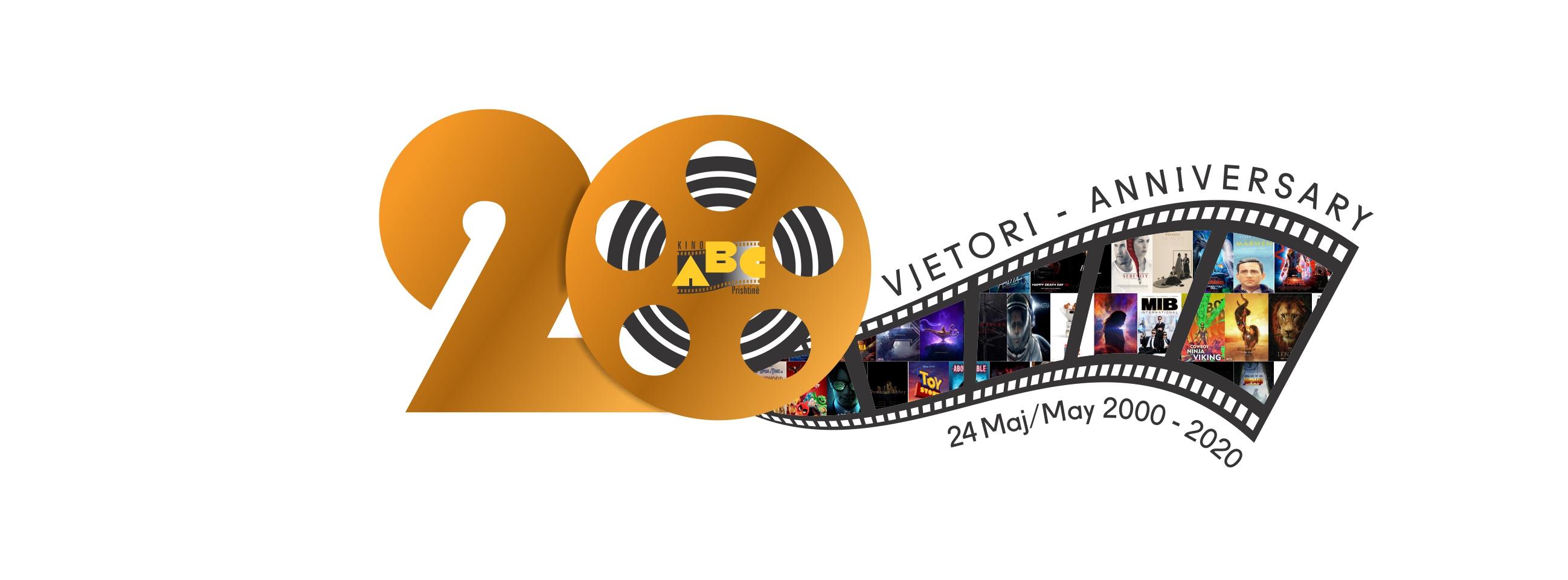 20 Vjetori i #KinoABC,   24 maj 2000 – 24 Maj 2020